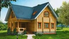 Дом из сруба A6