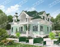 Дом из газобетона ЖАСМИН