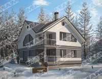 Дом из газобетона НОРБЕРТ