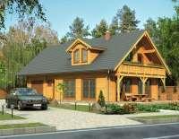 Дом из клееного бруса V512