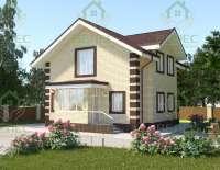 Проект кирпичного дома Марина-2