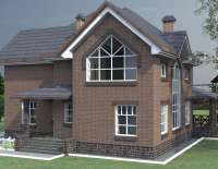 Кирпичный дом V-406