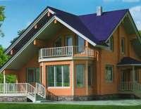 Дом из клееного бруса C9