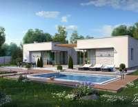 Проект современного дома X7