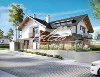 Проект современного дома X14