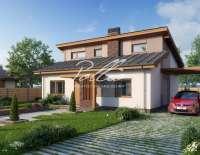 Проект современного дома X15